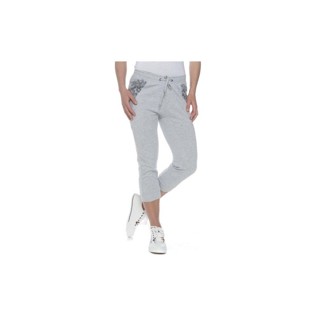 Dámské kalhoty SAM 73 šedá světlá