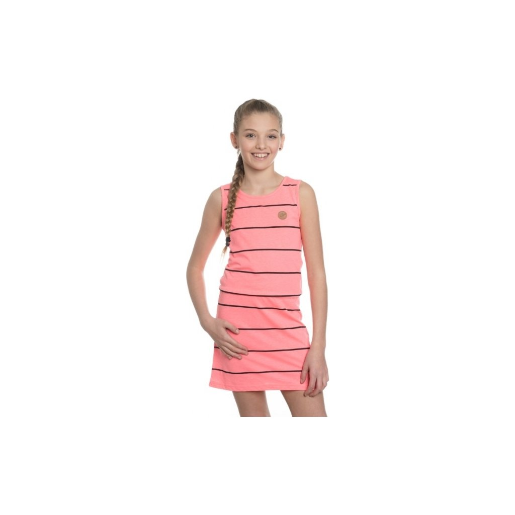 Dívčí šaty SAM 73 růžová