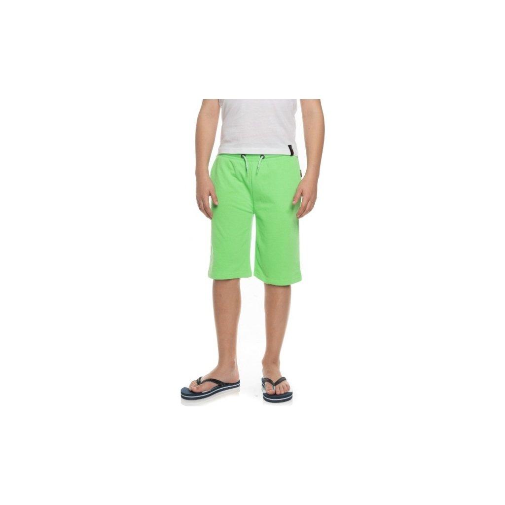 Chlapecké šortky SAM 73 zelená neon
