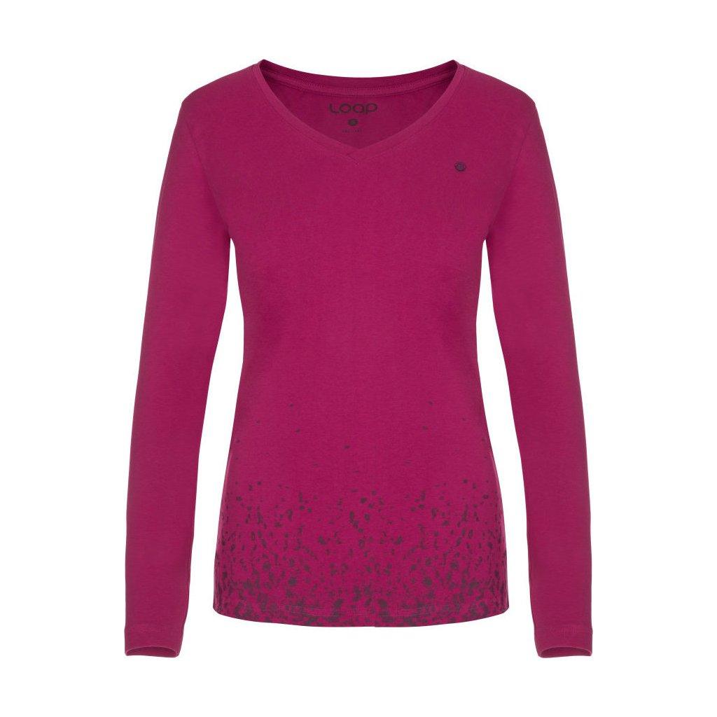 Dámské triko LOAP Anabel růžová