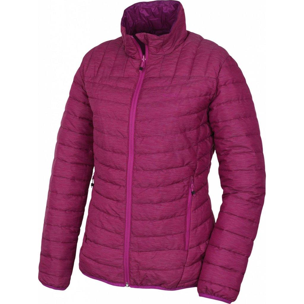 Dámská plněná oboustranná bunda HUSKY Nodiq L výrazně fialová / fialová