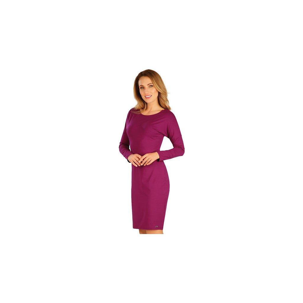 Dámské šaty LITEX s dlouhým netopýřím rukávem