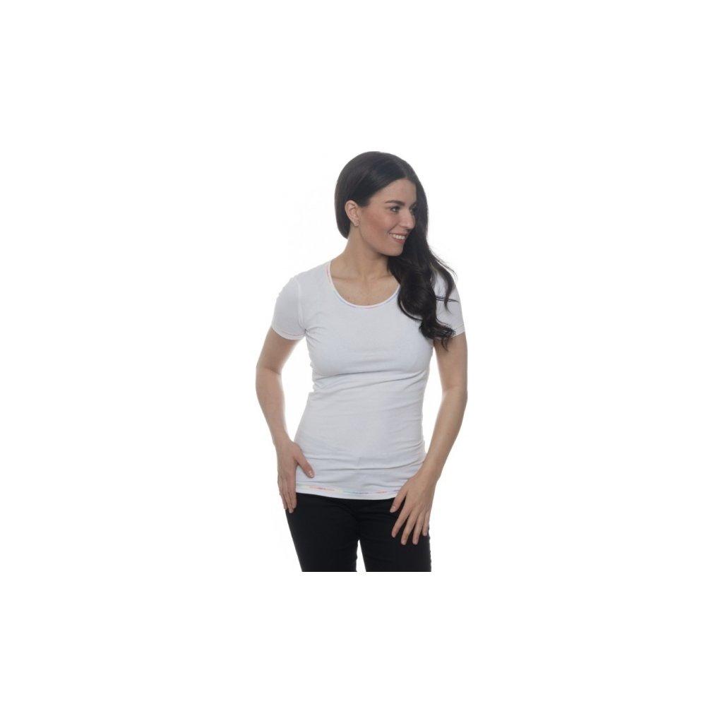 Dámské triko SAM 73 s krátkým rukávem bílá