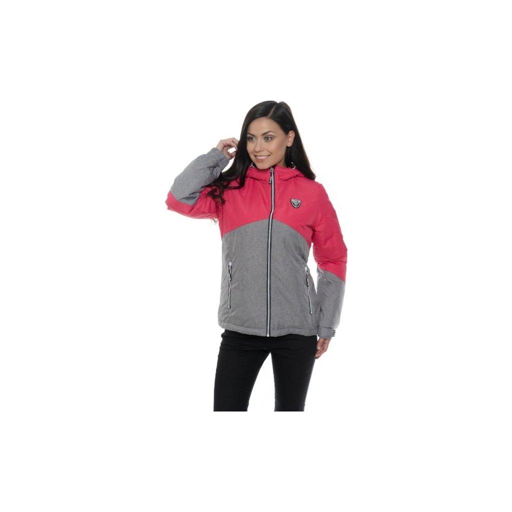 Dámská zimní bunda SAM 73 malinová