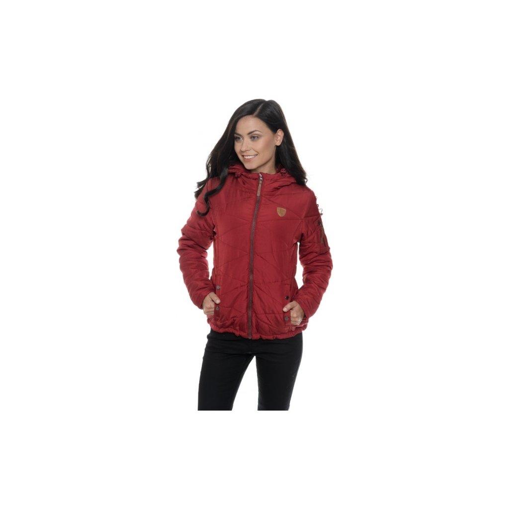 Dámská podzimní bunda SAM 73 červená