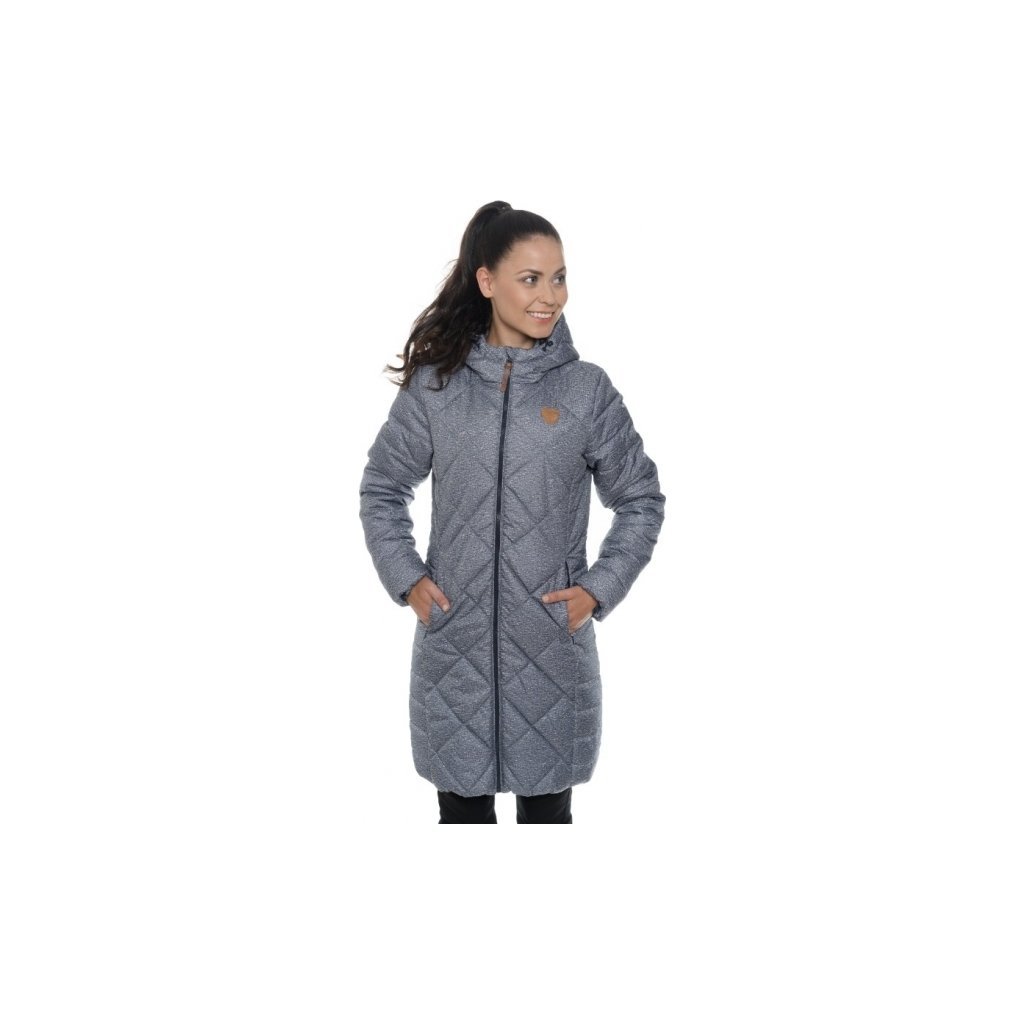 Dámský kabát SAM 73 modrá tmavá