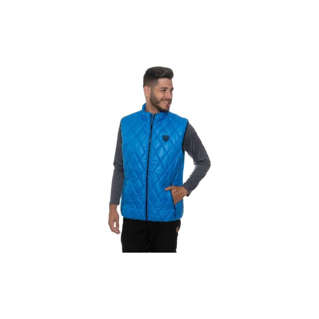 Pánská vesta SAM 73 Mb 734 220 modrá jasná xs