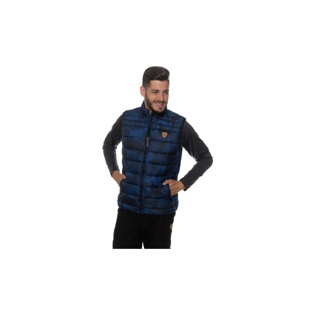 Pánská vesta SAM 73 Mb 735 240 modrá tmavá xs