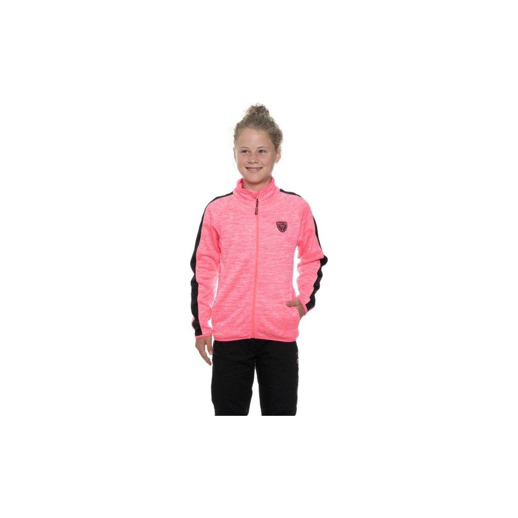 Dívčí mikina SAM 73 Gm 517 118 růžová 128