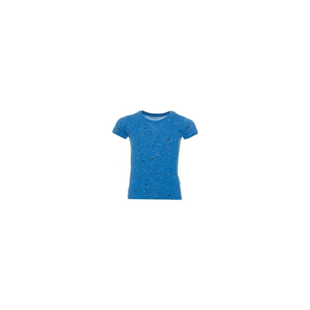Dívčí triko s krátkým rukávem SAM 73 Modrá kobaltová