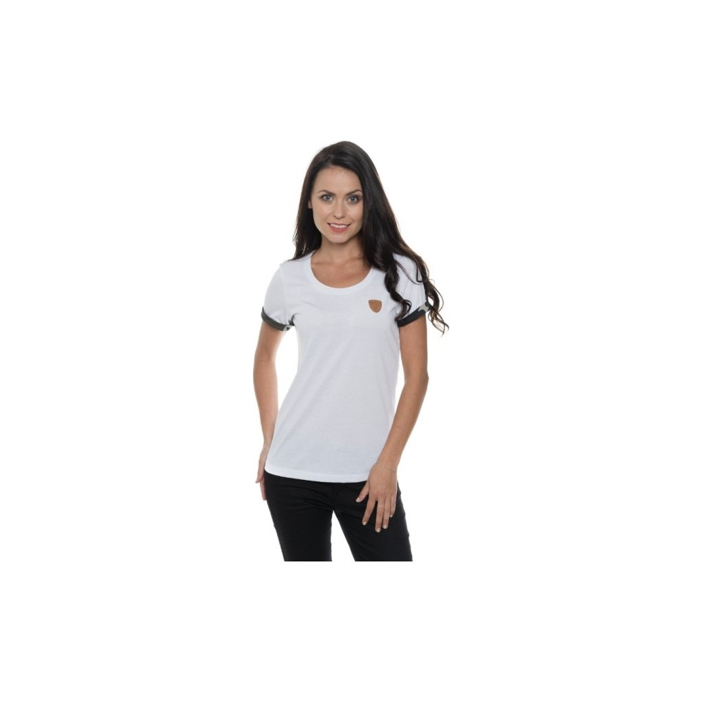 Dámské triko SAM 73 s krátkým rukávem Wt 785 000 bílá xs