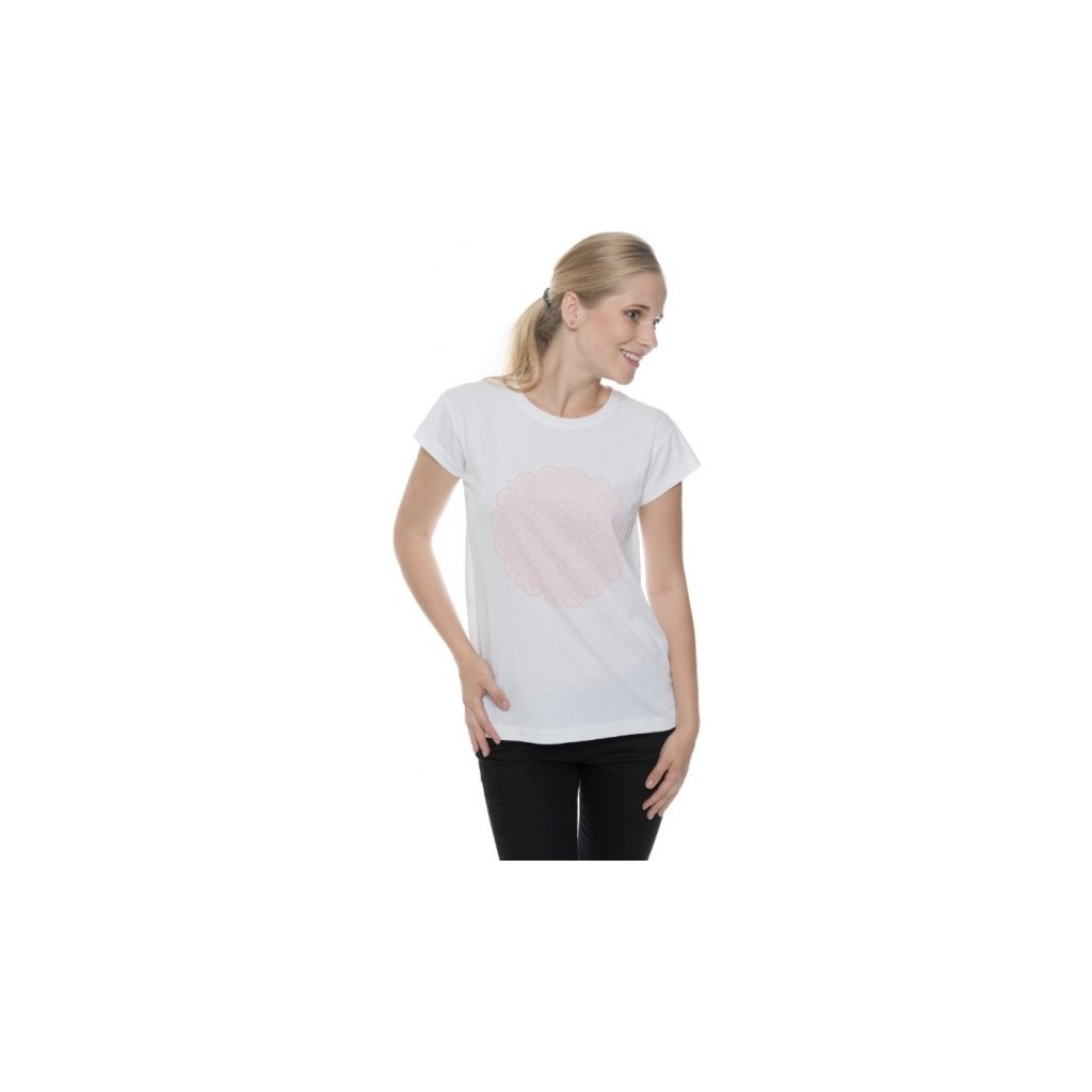 Dámské triko SAM 73 s krátkým rukávem Ltsp534 000sm bílá xs