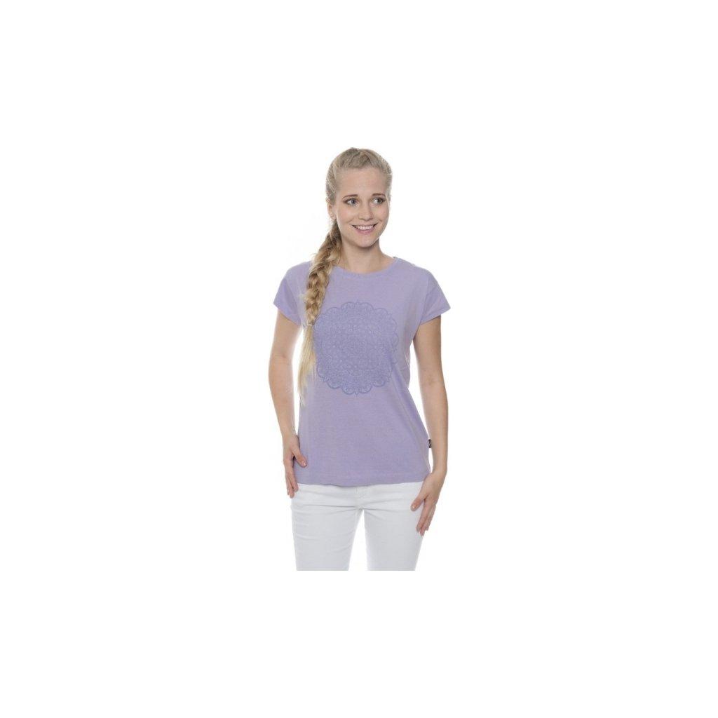 Dámské triko SAM 73 s krátkým rukávem světlá fialová