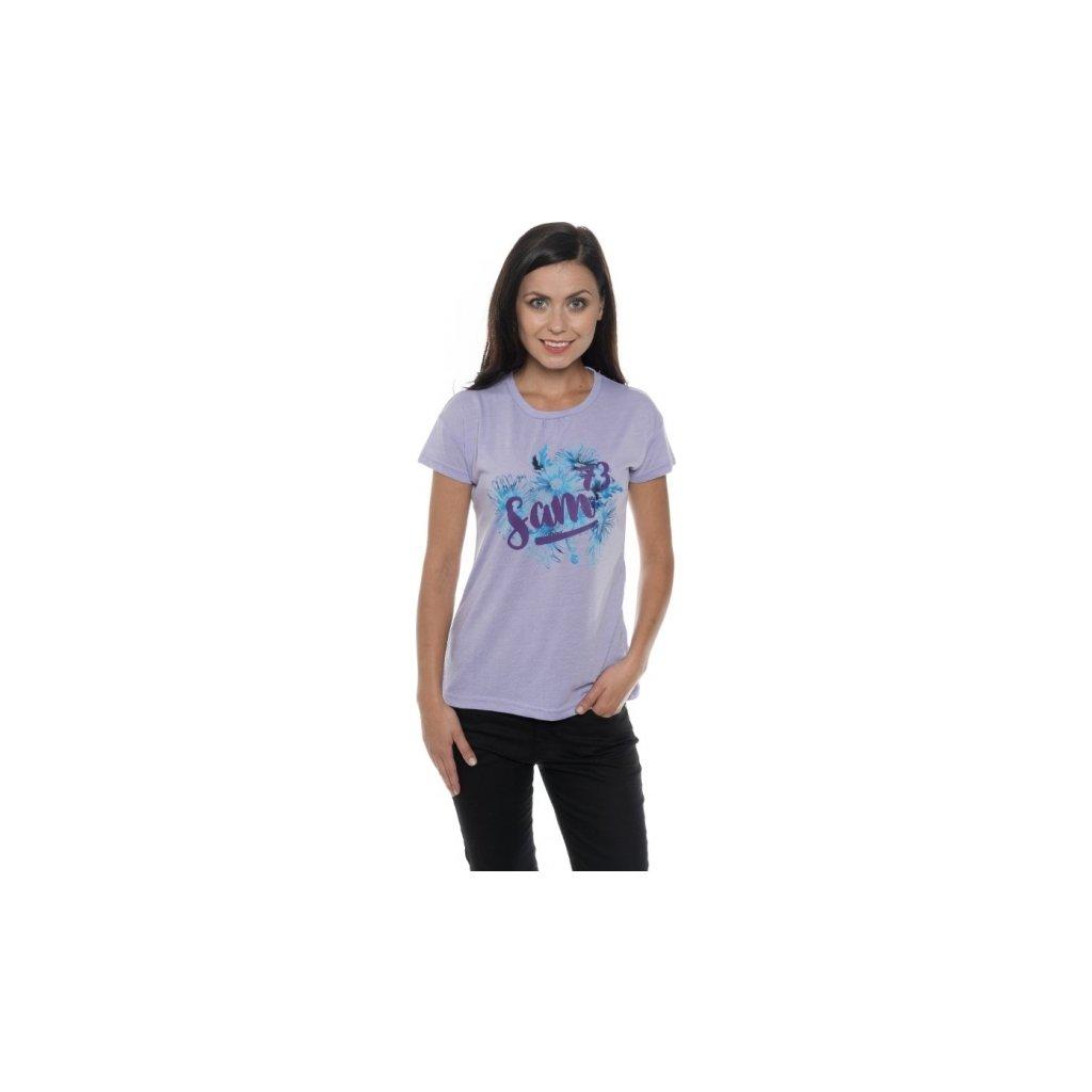 Dámské triko SAM 73 s krátkým rukávem Ltsp540 829sm světlá fialová xs