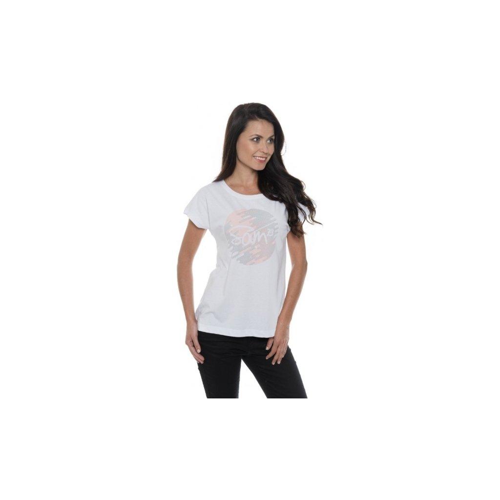 Dámské triko SAM 73 s krátkým rukávem Ltsp541 000sm bílá xs