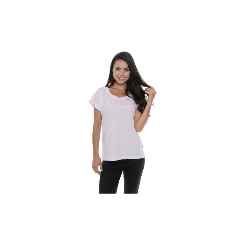 Dámské triko SAM 73 s krátkým rukávem Ltsp543 413sm světle růžová xs