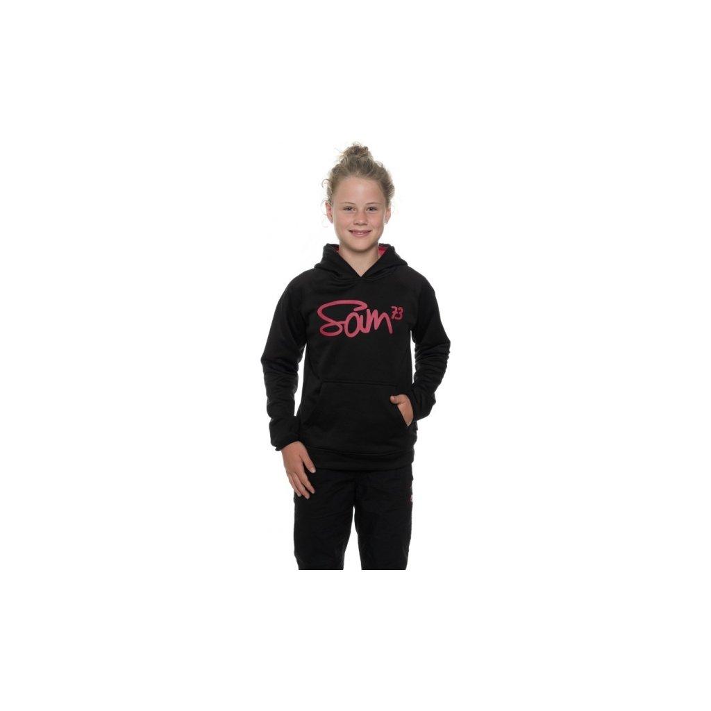 Dívčí mikina SAM 73 Gm 513 500 černá