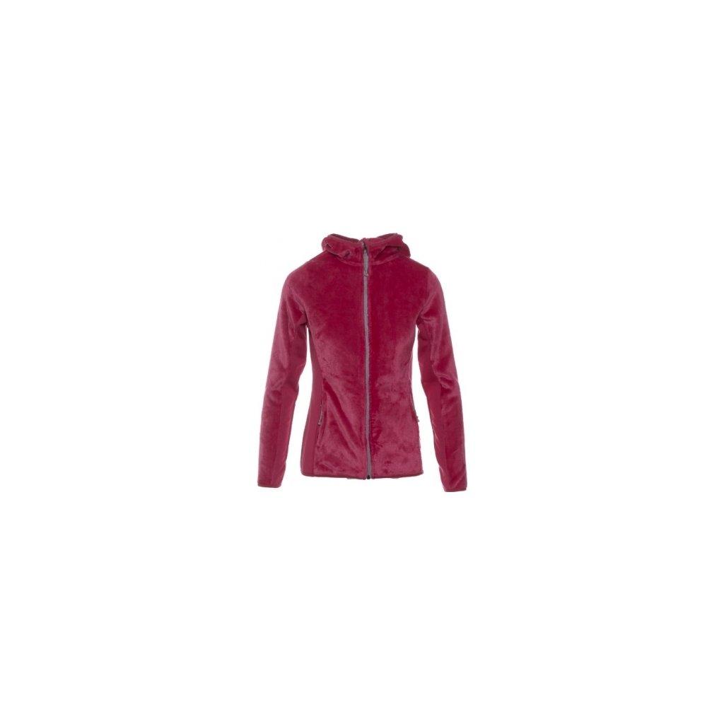 Dámská mikina SAM 73 - fleece Lswp224 415sm růžová - fuchsia xs