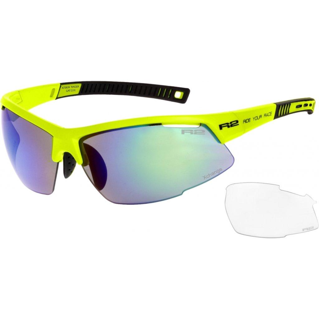 Sportovní sluneční brýle R2 Racer žlutá