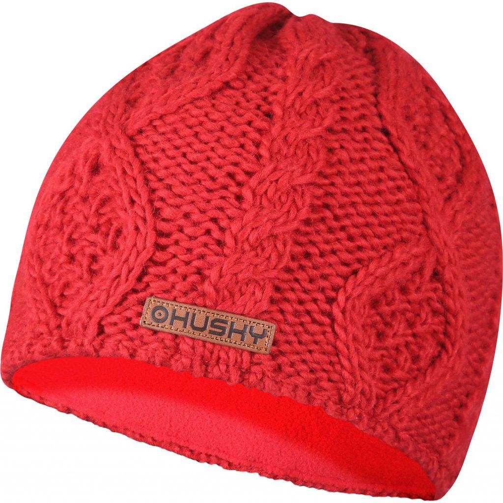 Dámská čepice HUSKY Cap 32 červená