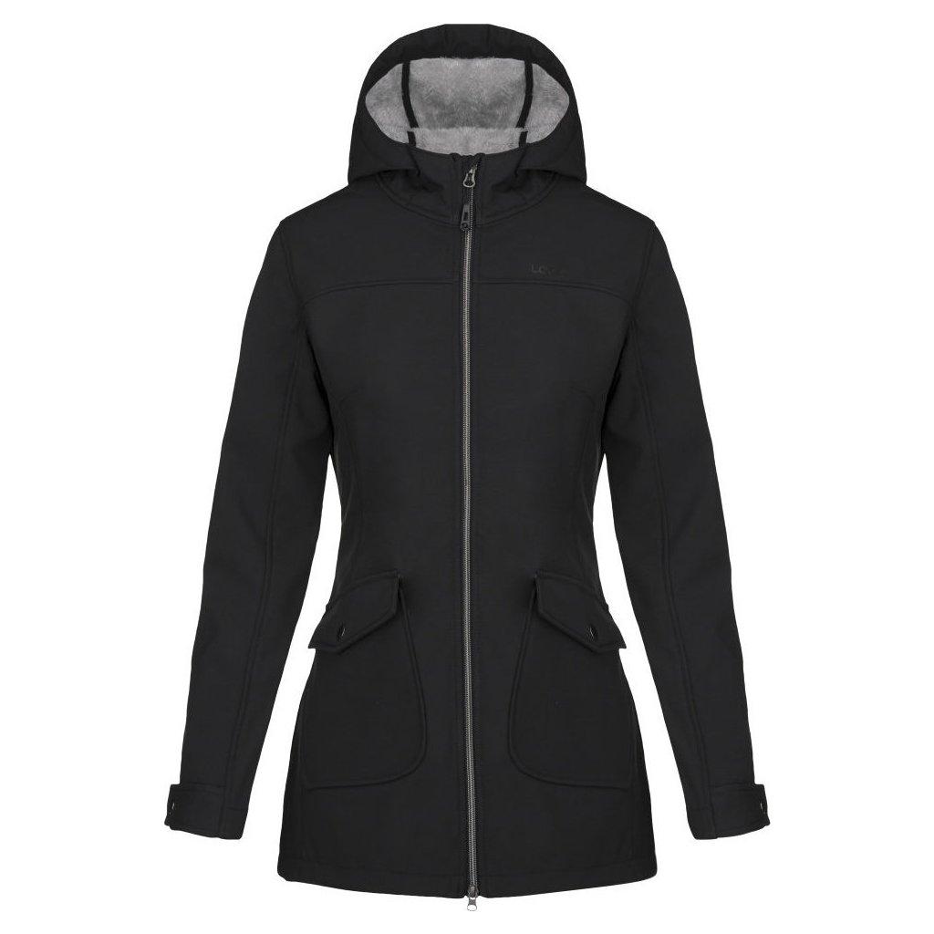 Dámský softshellový kabát LOAP Latisha černá