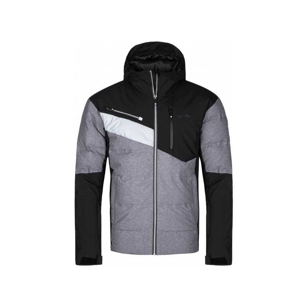 Pánská lyžařská bunda KILPI Teddy-m tmavě šedá