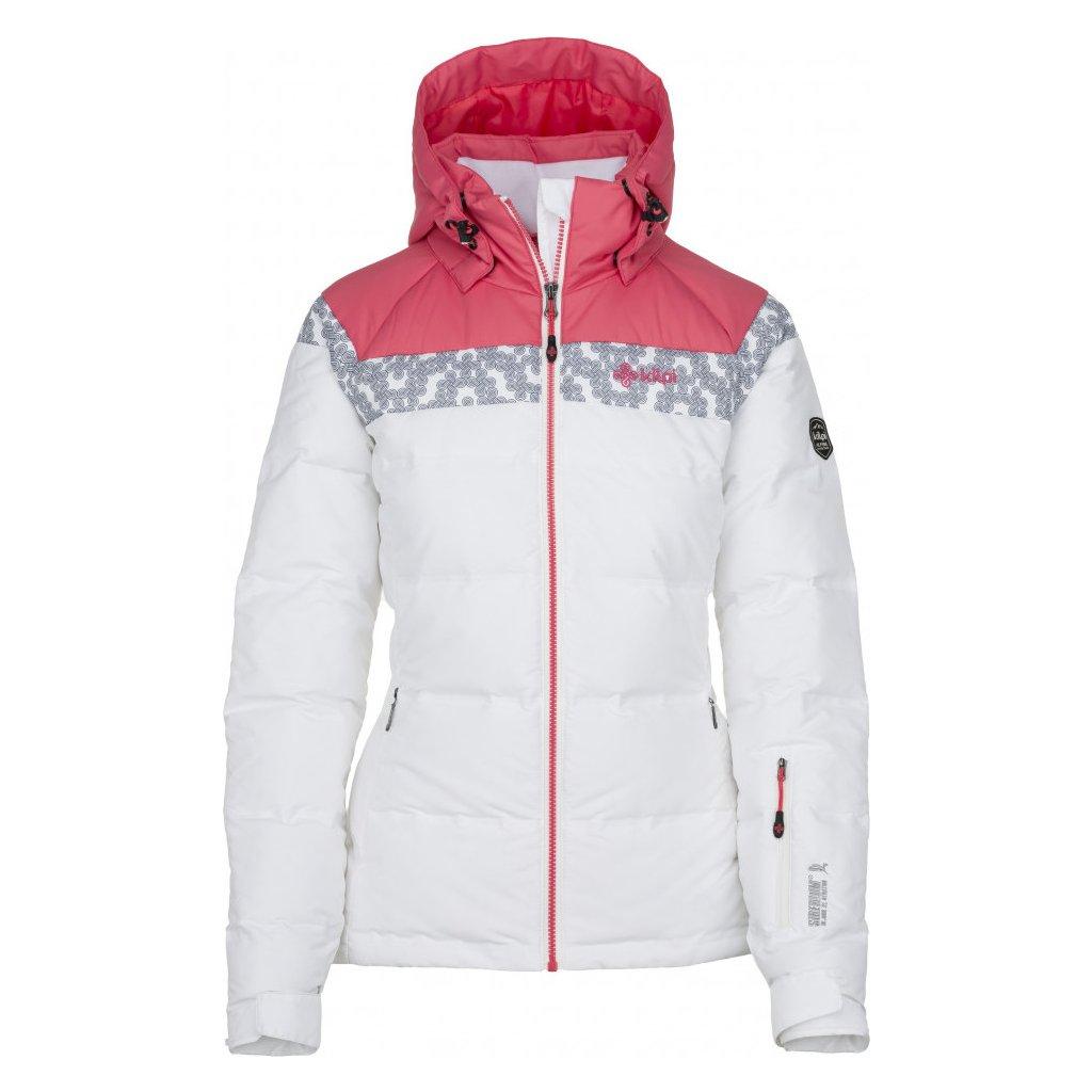 Dámská lyžařská bunda KILPI Synthia-w bílá
