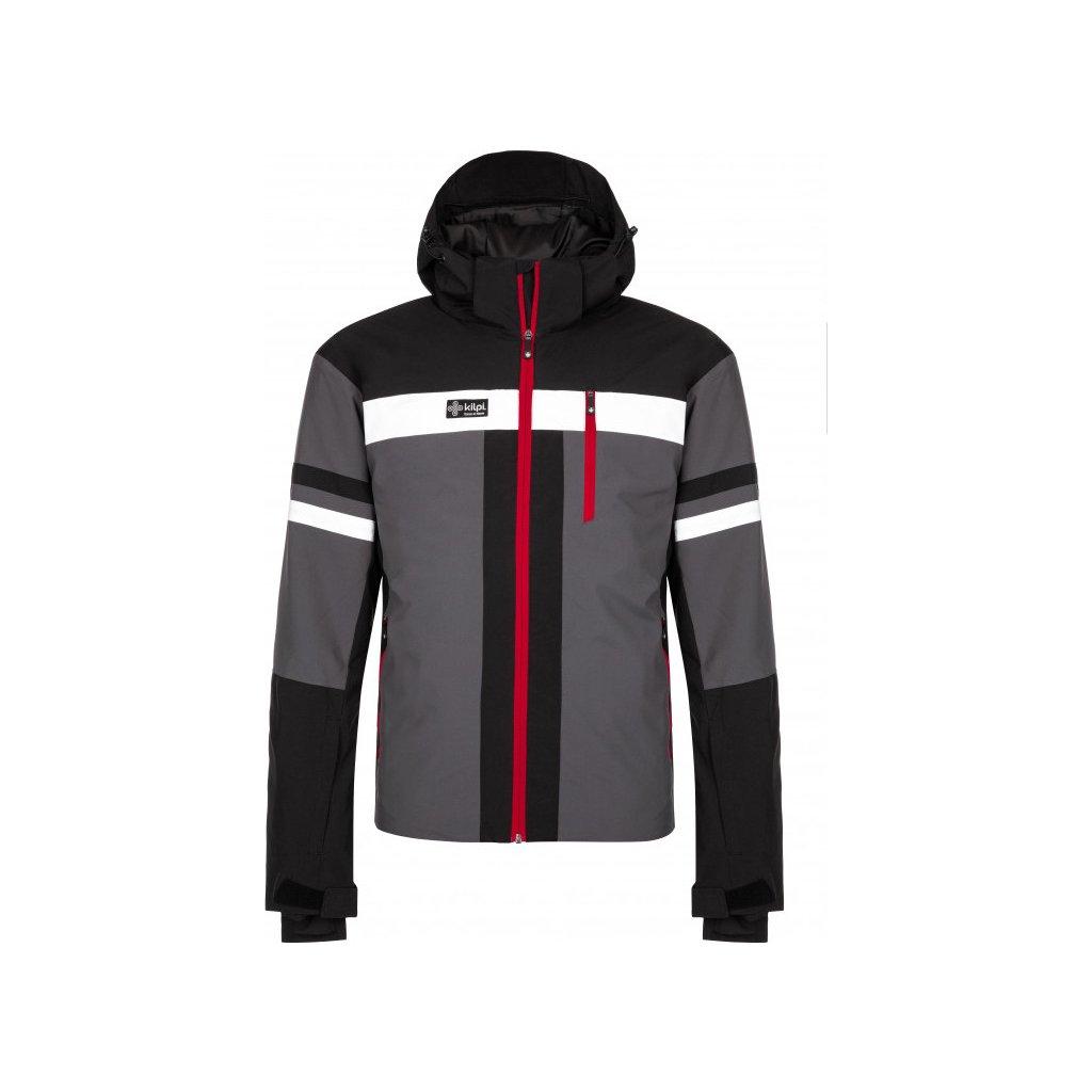 Pánská lyžařská bunda KILPI Ponte-m tmavě šedá