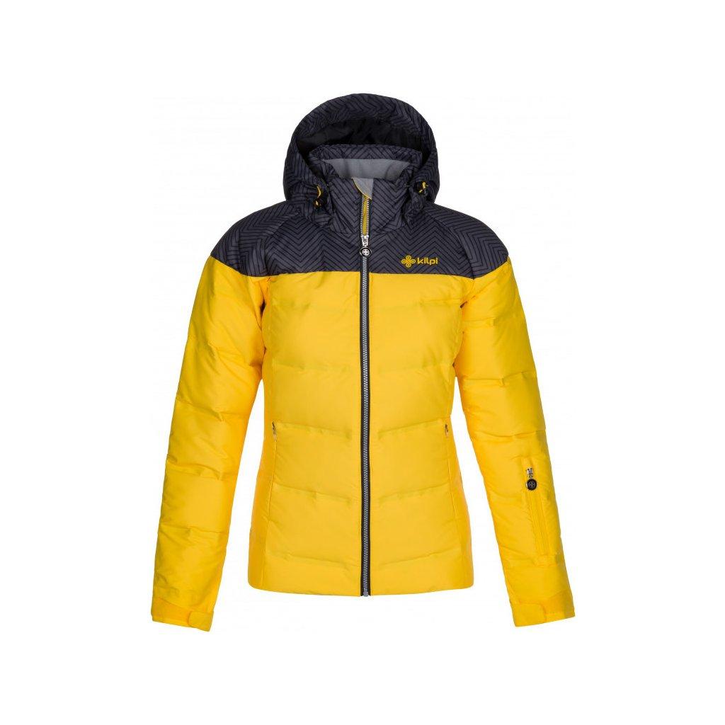 Dámská lyžařská bunda KILPI Buffy-w žlutá