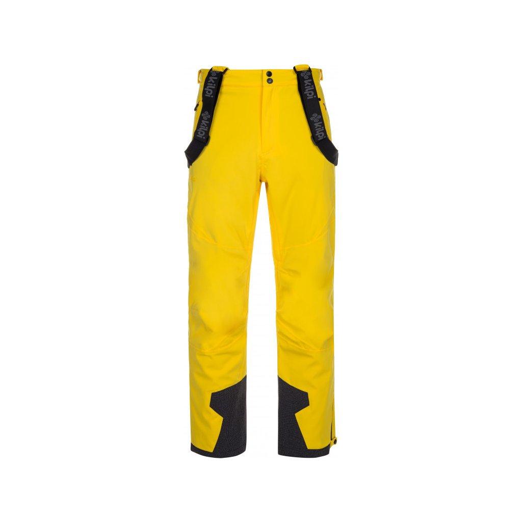 Pánské lyžařské kalhoty KILPI Reddy-m žlutá