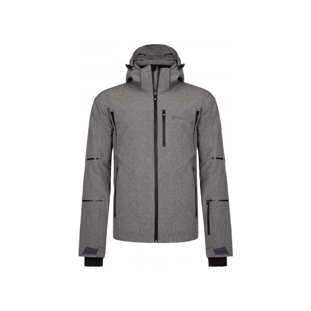 Pánská lyžařská bunda KILPI Tonn-m tmavě šedá
