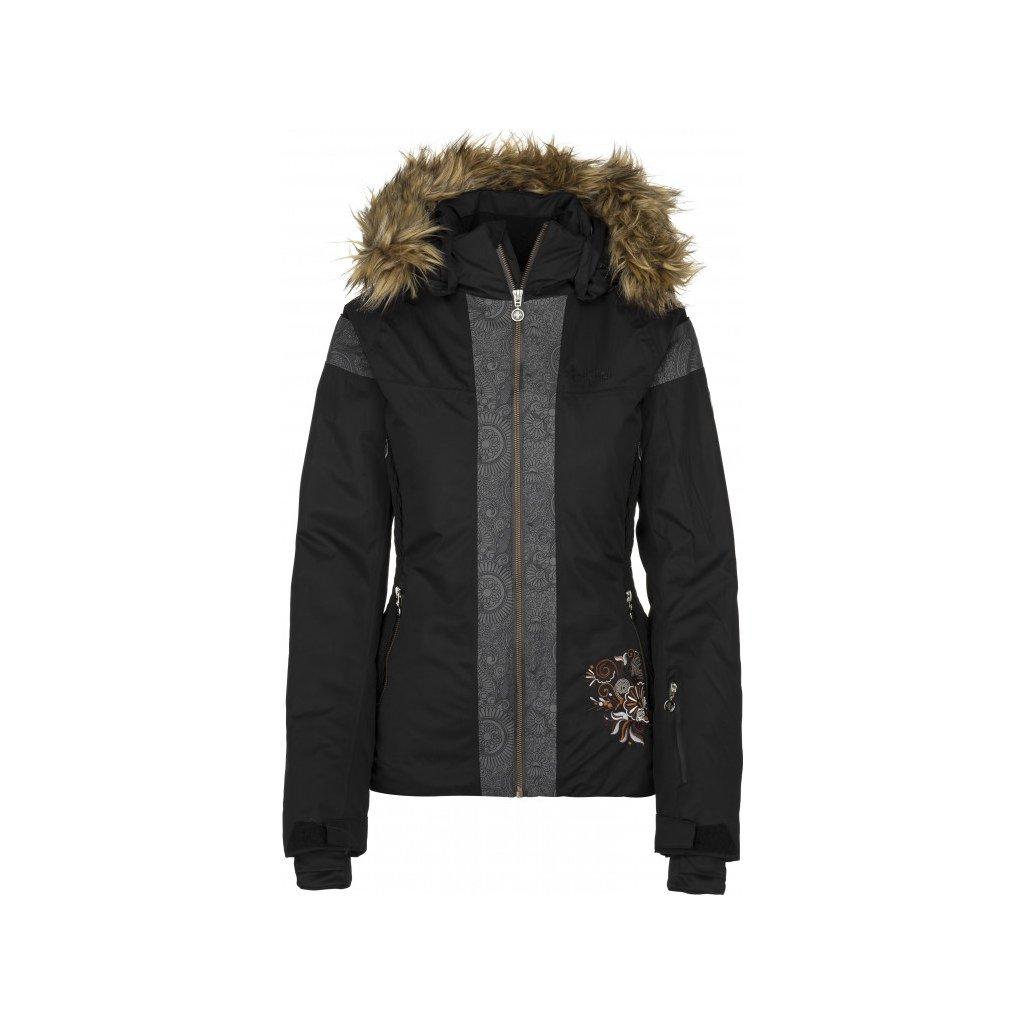 Dámská lyžařská bunda KILPI Delia-w černá
