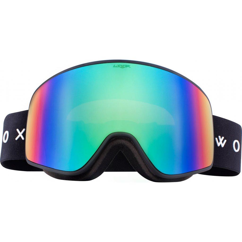Lyžařské brýle WOOX Opticus Temporarius Dark/Gre