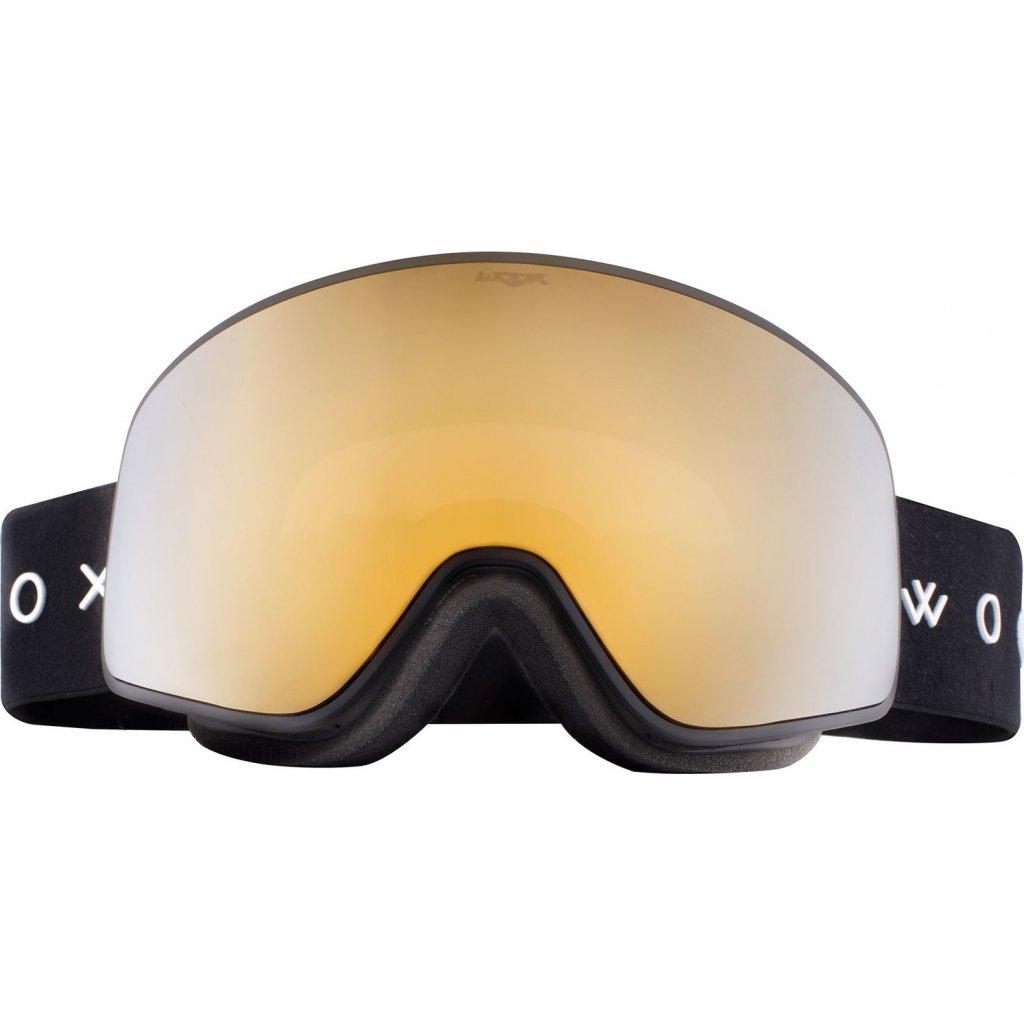 Lyžařské brýle WOOX Opticus Temporarius Dark/Gld