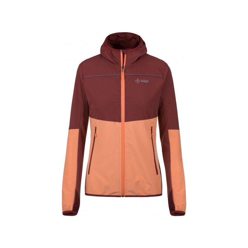 Dámská outdoorová bunda KILPI Joshua-w světle červená