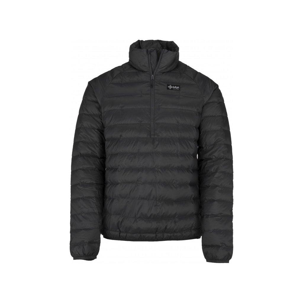 Pánská péřová bunda KILPI Edmon-m tmavě šedá