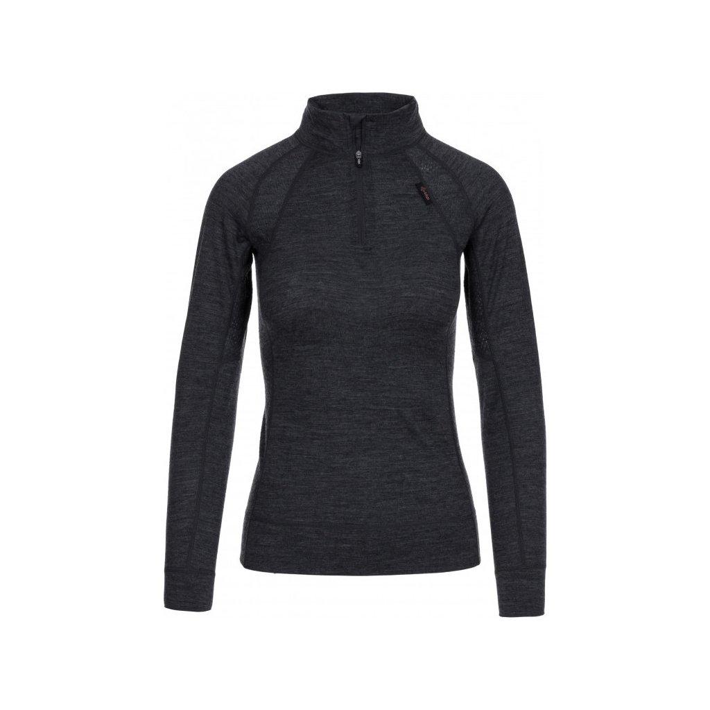Dámské funkční tričko KILPI Jager-w tmavě šedá