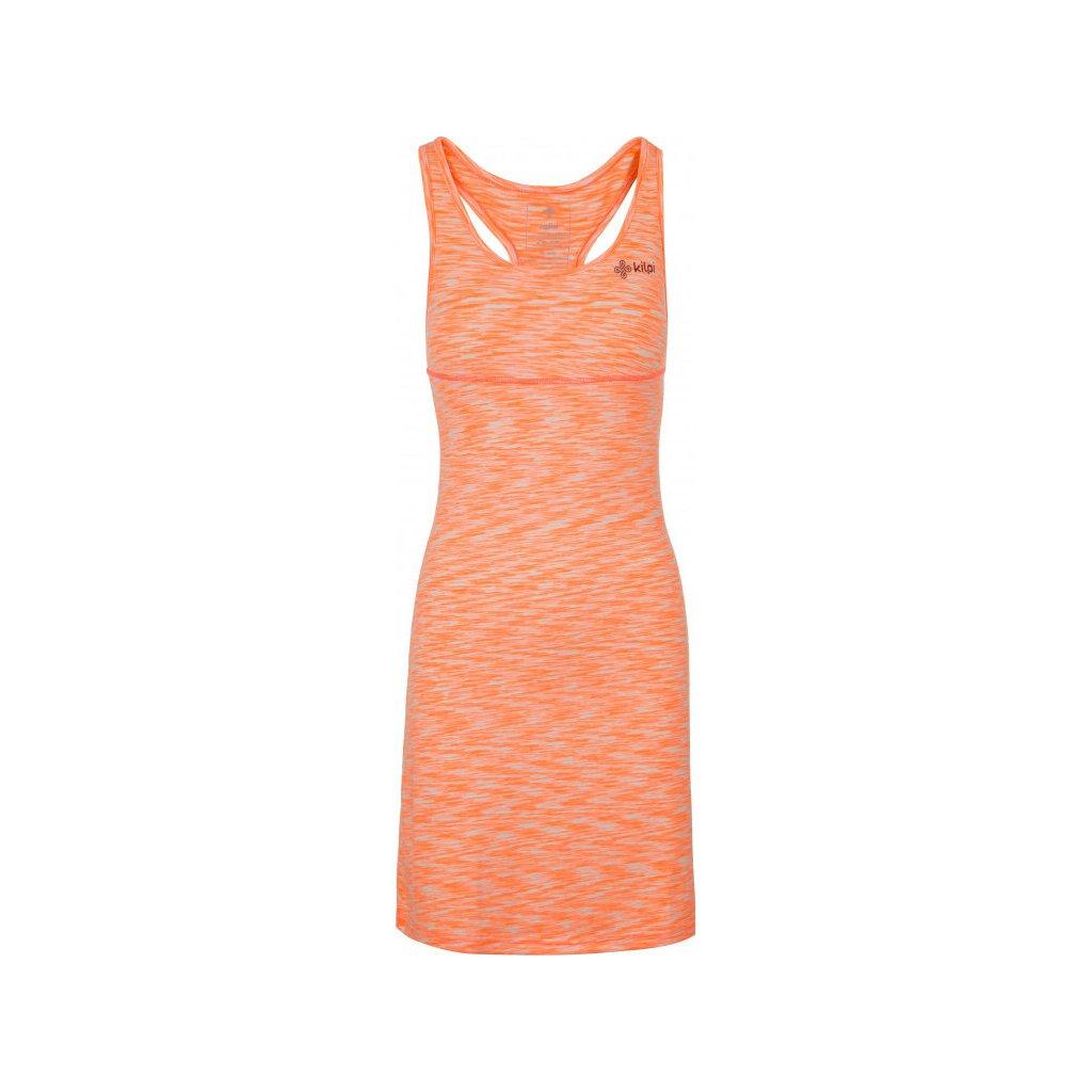 Dámské elastické šaty KILPI Sonora-w světle červená