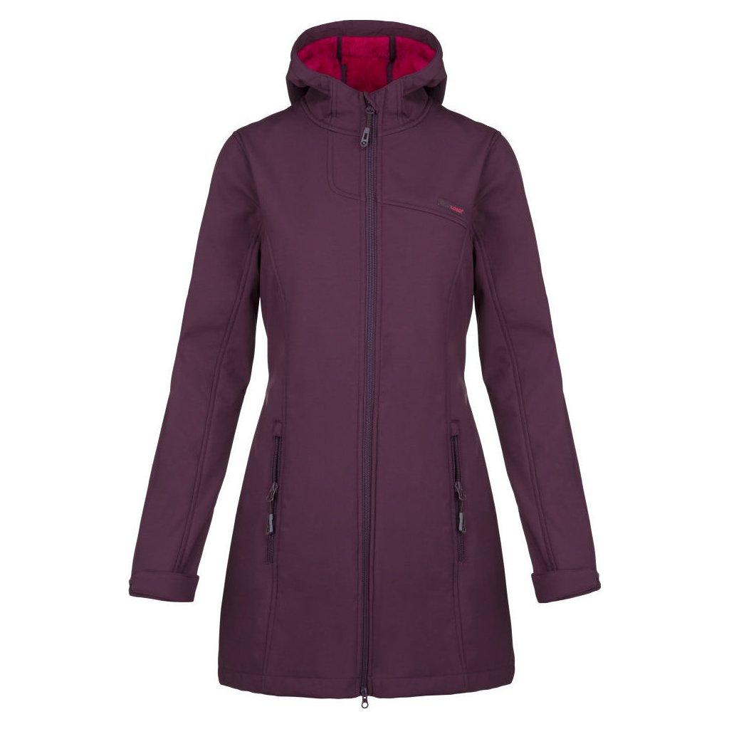 Dámský softshell kabát LOAP Lavinia fialová