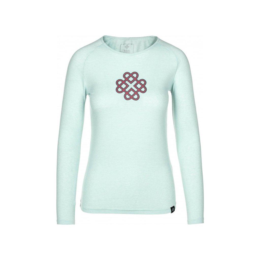 Dámské bavlněné tričko KILPI Gaia-w světle modrá