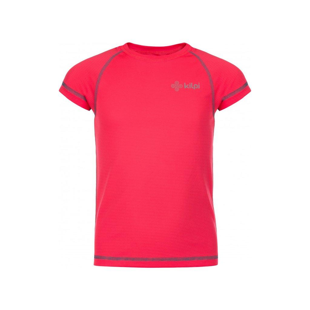 Dívčí funkční tričko KILPI Tecni-jg růžová