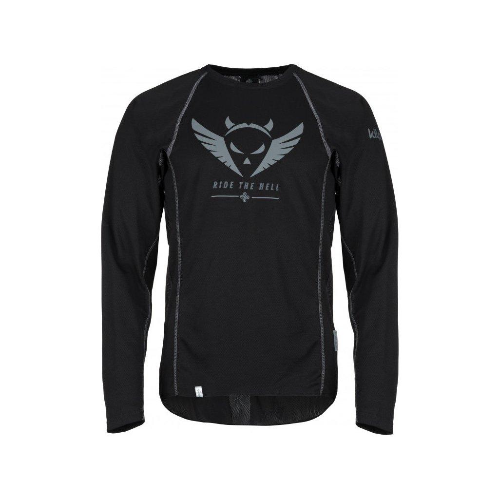 Pánské funkční tričko KILPI Explosion-m černá