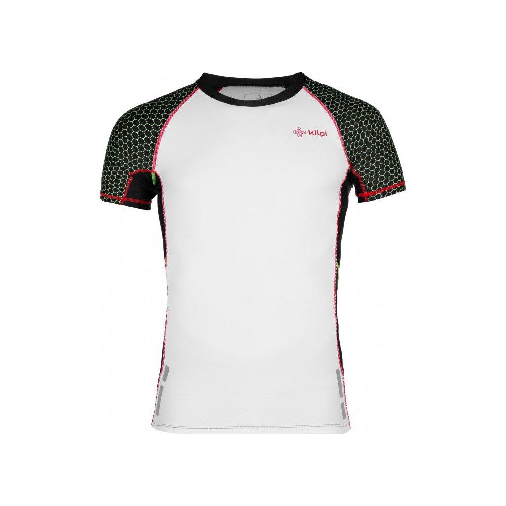 Pánské kompresní tričko KILPI Combo-m bílá