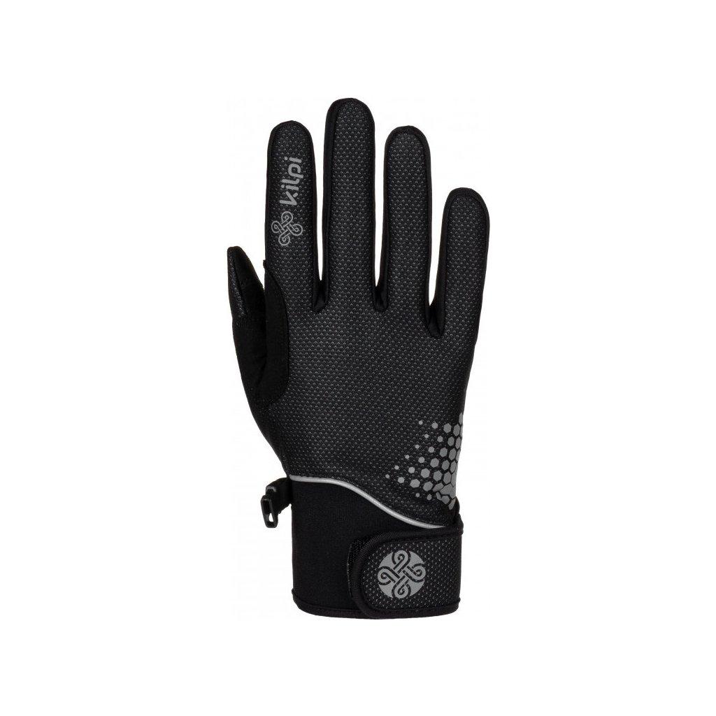 Softshellové prstové rukavice KILPI Nedel-u černá