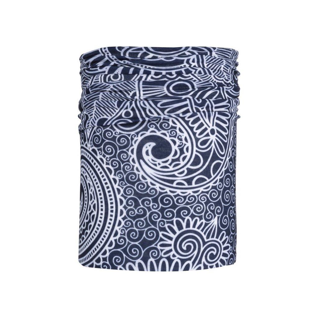 Univerzální šátek KILPI Bebeh-u tmavě modrá