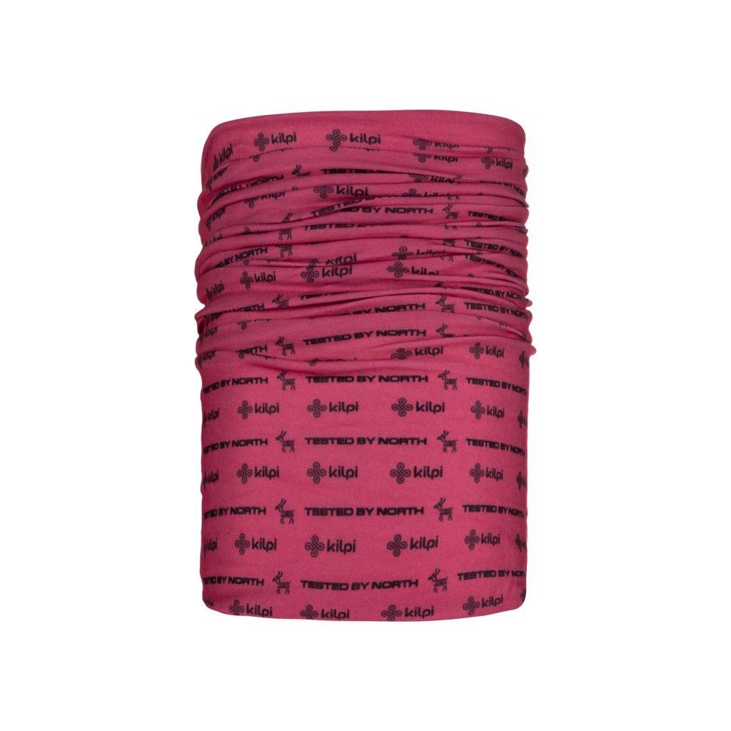 Multifunkční šátek KILPI Darlin-u růžová