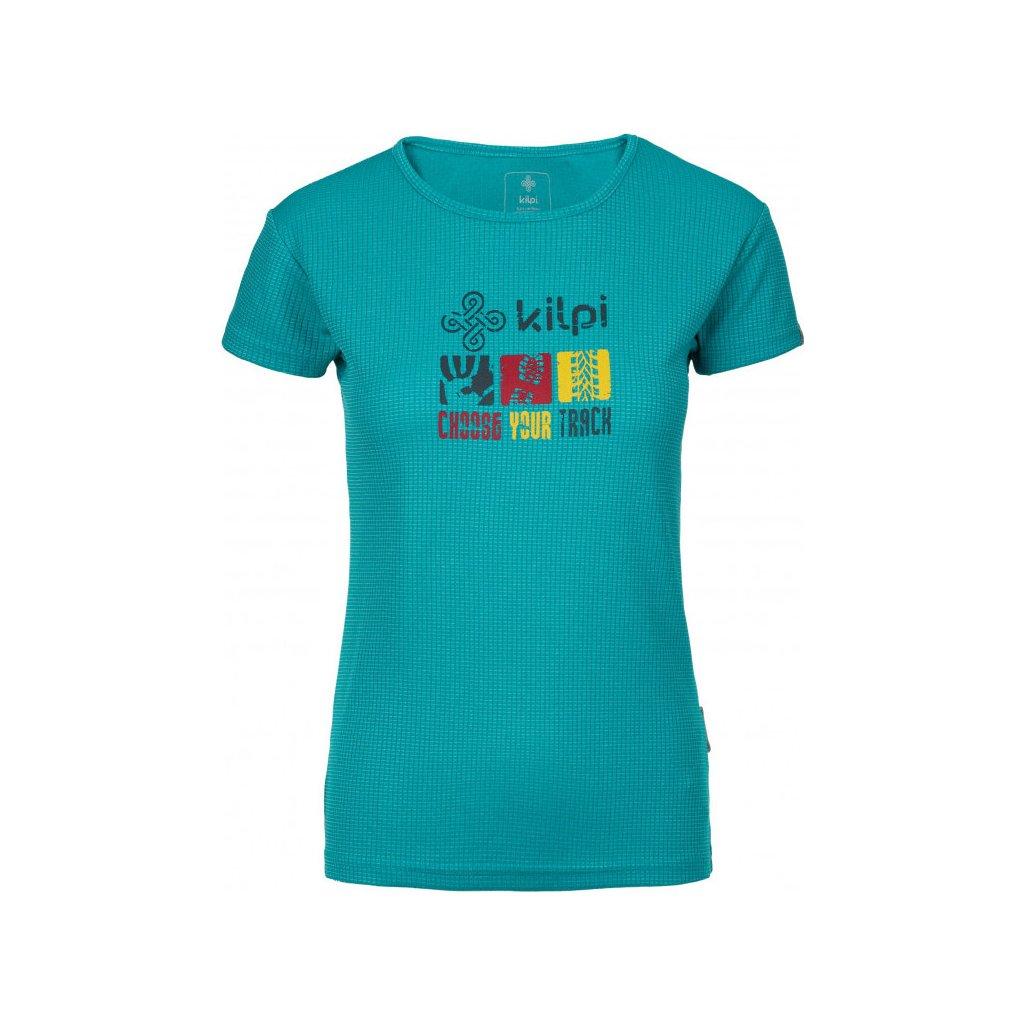 Dámské funkční tričko KILPI Giacinto-w tyrkysová
