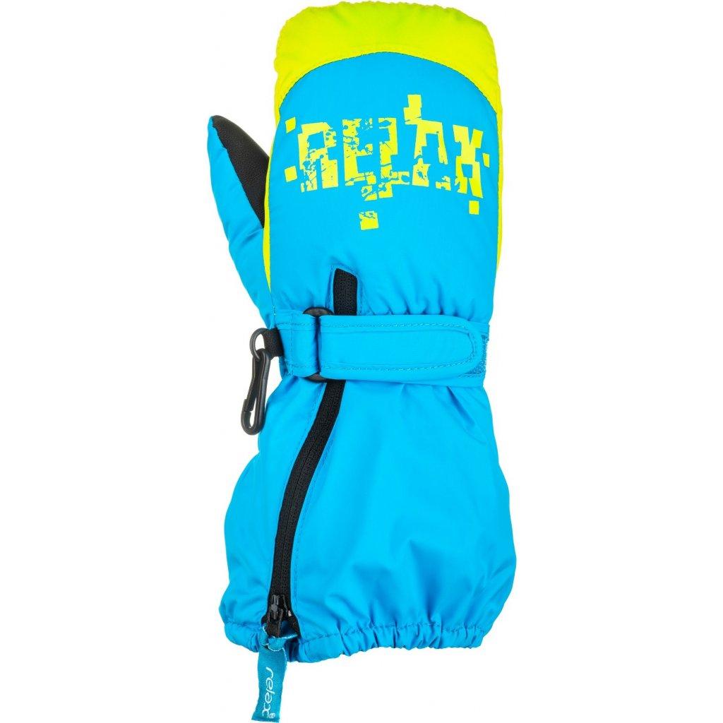 Dětské lyžařské rukavice RELAX Puzzyto