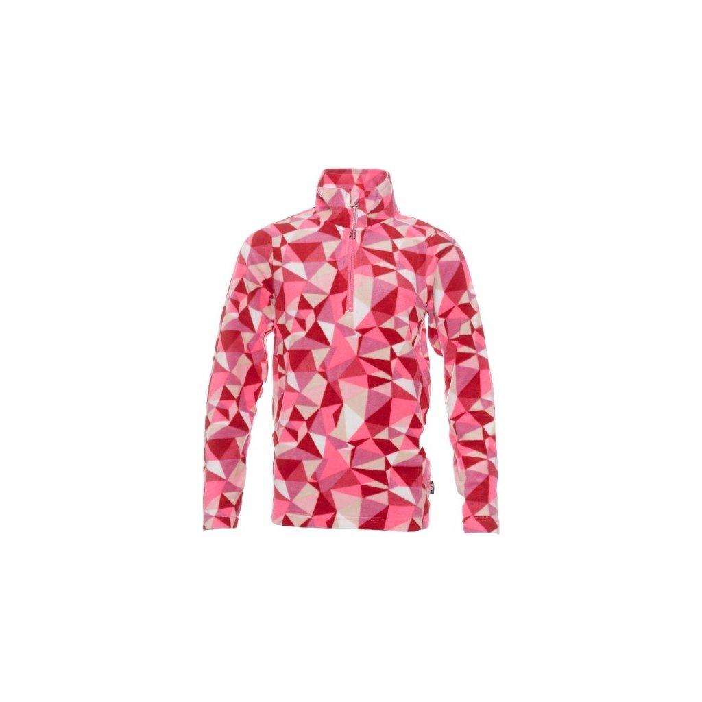 Chlapecká mikina SAM 73 - fleece růžová