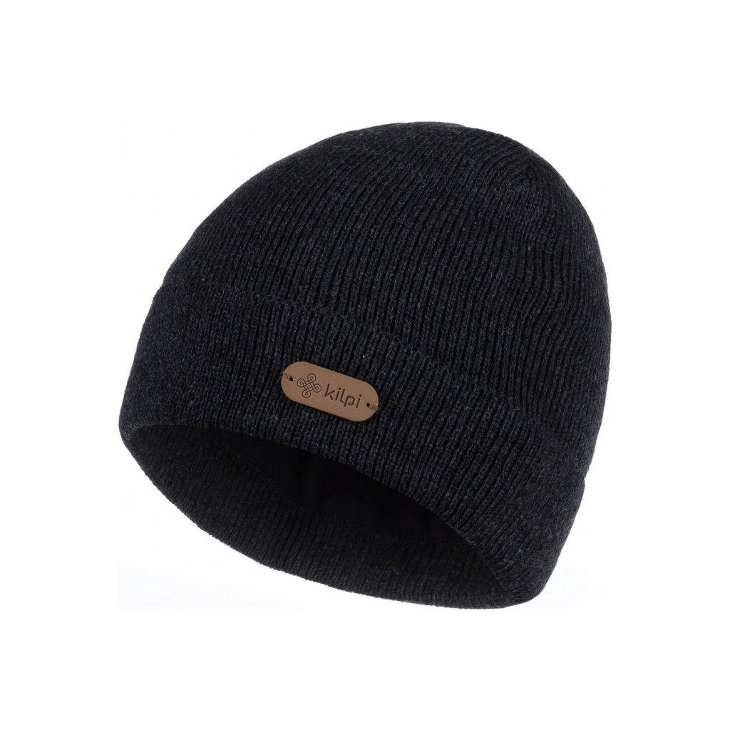 Pánská zateplená čepice KILPI Benji-m černá